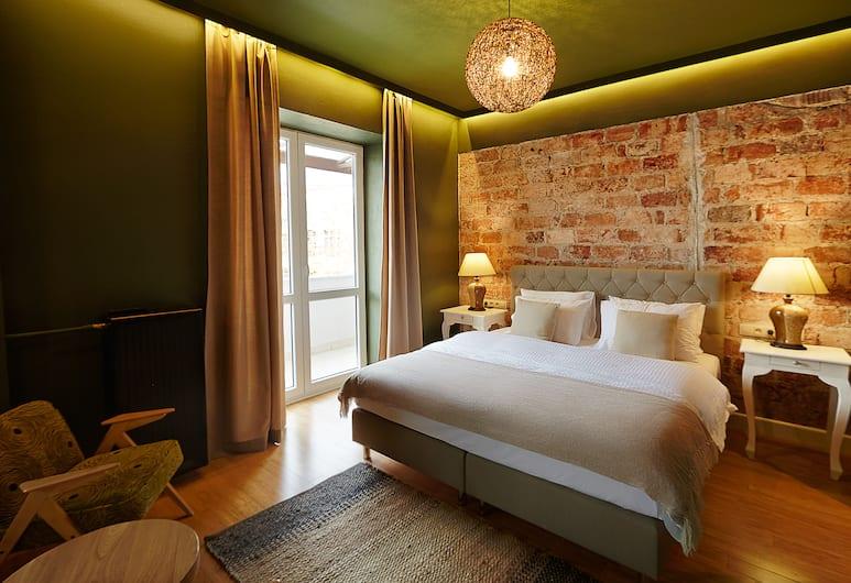 SleepWell Apartments Ordynacka, Varšava, Apartmán, balkón, Izba