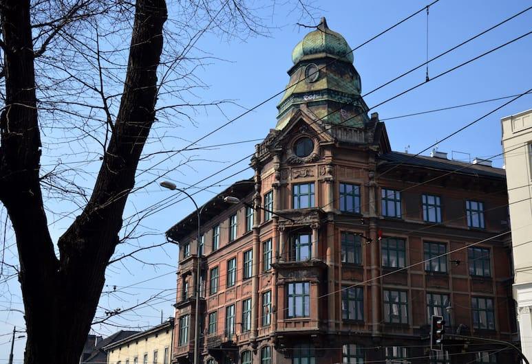 B Movie Hostel, Kraków, Fasada hotelu