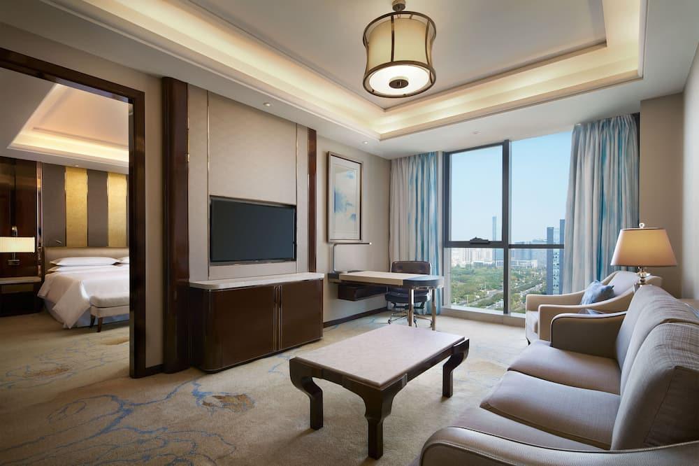 Executive-sviitti, 2 makuuhuonetta, Tupakointi kielletty - Vierashuone