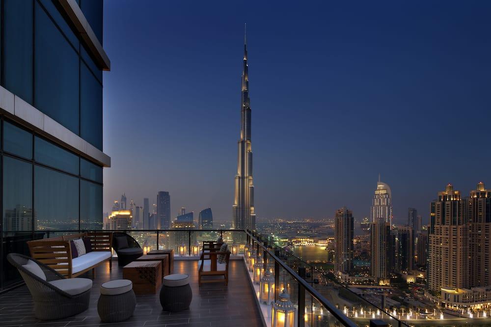 Suite Prestigio, 1 cama King size (Maharaja, Burj View) - Balcón