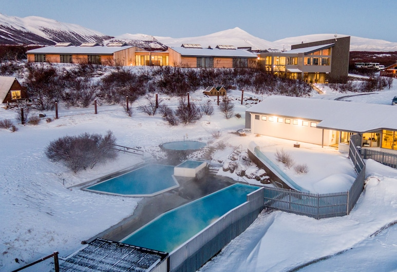 Hotel Husafell, Borgarnes, Outdoor Pool