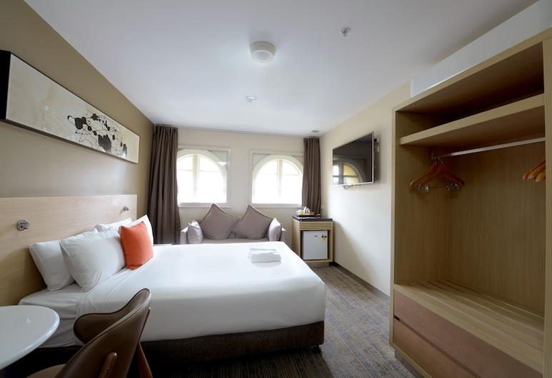 إيبيس بدجيت ميلبورن سي بي دي, ملبورن, غرفة سوبيريور - سرير كبير, غرفة نزلاء