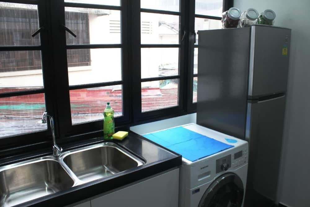 共用宿舍, 1 張標準雙人床 - 共用廚房