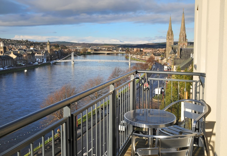 Highland Apartments By Mansley, Inverness, Apartment, 1 Bedroom, River View, Balcony