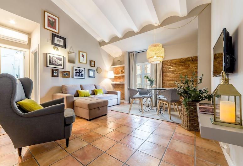 Palacio de Rojas Apartments, Valencia, Duplex de 2 dormitorios (9 personas) 42, Wohnzimmer