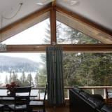 高級木屋, 2 間臥室 - 客廳