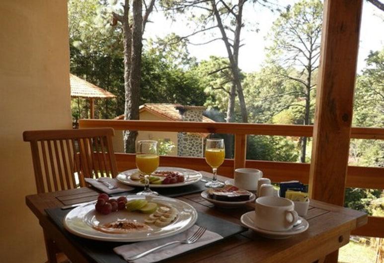 Bosque Escondido Hotel de Montaña, Mazamitla, Essbereich im Zimmer