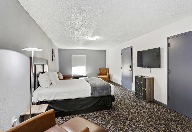 ラマダ バイ ウインダム ニュー オルレアン, ニューオーリンズ, エグゼクティブ スイート 2 ベッドルーム 禁煙 (1 King Bed and 1 Queen Bed), 部屋