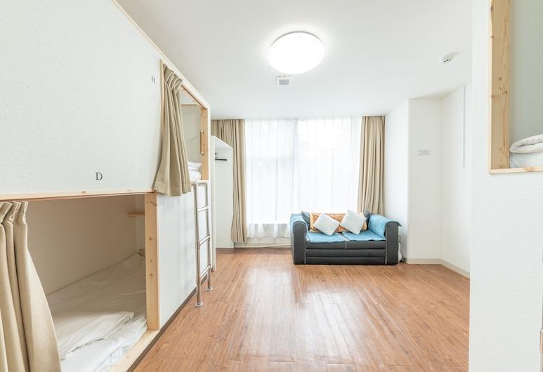 OYO Hikari House, Tokio, Wspólny pokój wieloosobowy, tylko dla mężczyzn, wspólna łazienka (For 1 bed only), Pokój