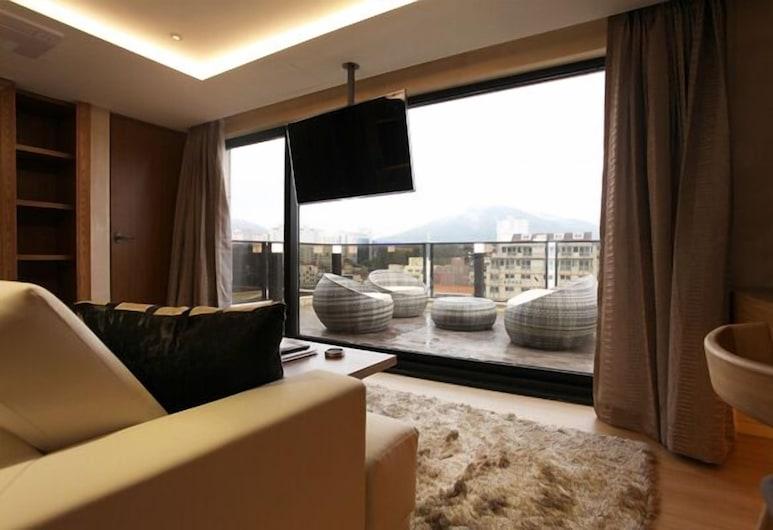 호텔 컬리넌 제주, 제주시, Diamond Room, 거실 공간