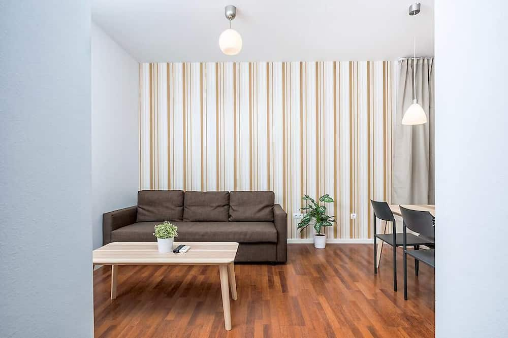 غرفة دوبلكس - غرفتا نوم - غرفة معيشة