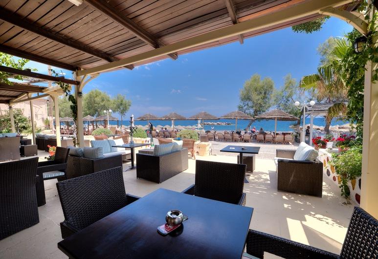 Nostos Beach, Santorini, Outdoor Dining