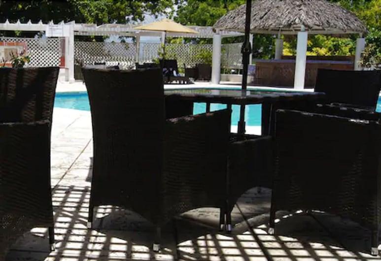 Visa Lodge, Port-au-Prince, Terrace/Patio