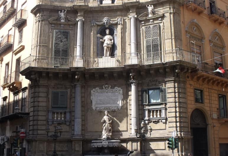 A Casa Mia, Palermo, Vista dalla struttura