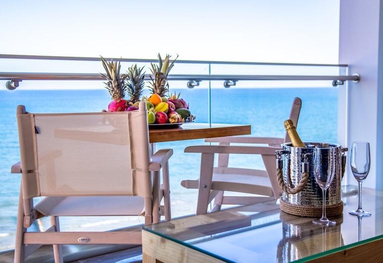 The Ciao Stelio Deluxe Hotel - Adults Only , Larnaka, Klasisks divvietīgs numurs, balkons, skats uz jūru, Viesu numurs