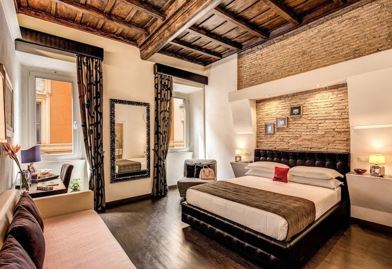 Tritone Top House, Rom, Junior-suite (Check-in at Via del Babuino 70), Værelse