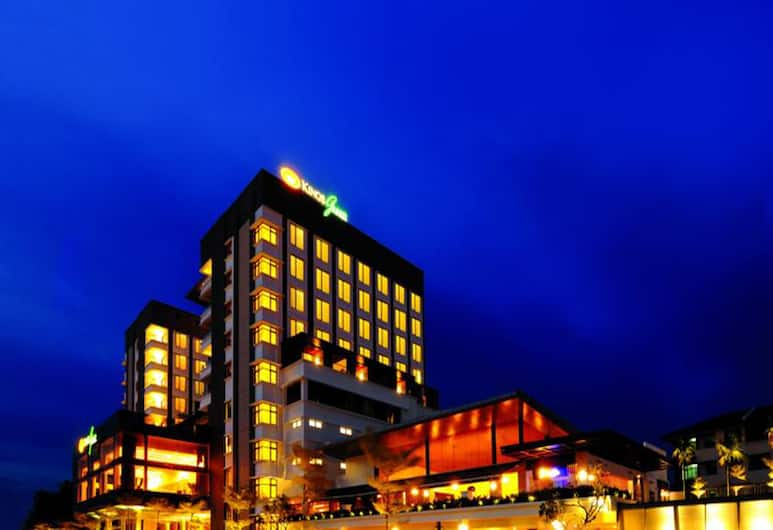 Kings Green Hotel, Malacca City, Hotel Front – Evening/Night