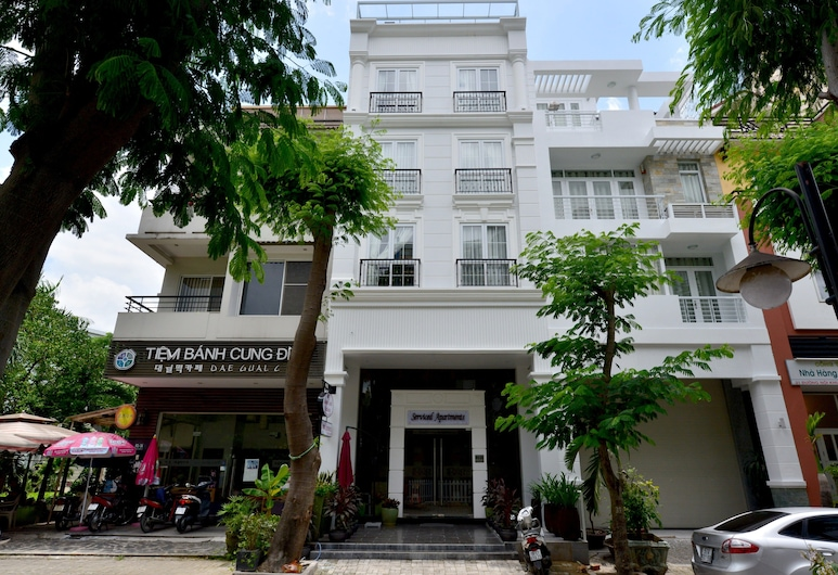Saigon South Serviced Apartments, Hočiminovo mesto