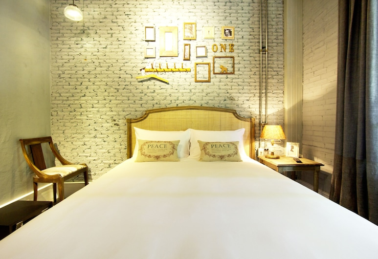 Oneday Hostel Sukhumvit 26, Bangkok, Double Private Room with Shared Bathroom, Pokój