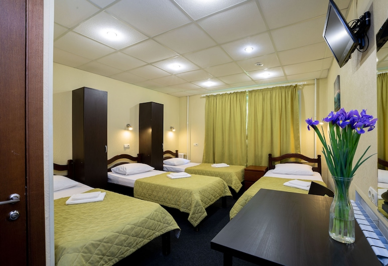 Mini Hotel Kashirskiy - Hostel, Moscow, Bed in 4-Beds Mixed Dormitory Room, Guest Room