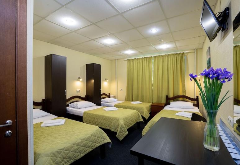 Mini Hotel Kashirskiy - Hostel, מוסקבה, חדר מעונות משותף סטנדרט (4-beds mixed shared dormitory), חדר אורחים
