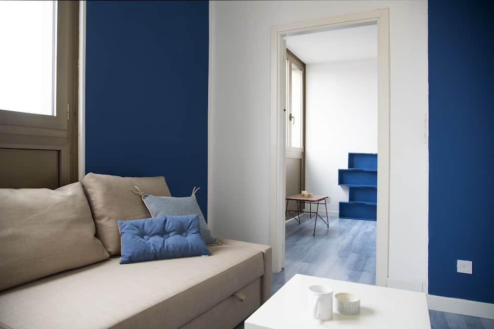 Huoneisto, 1 makuuhuone, Kaupunkinäköala, Lisärakennus (Largo Europa 3) - Vierashuone