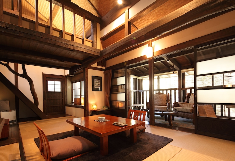 Kurokawa Onsen Oyado Noshiyu, Minamioguni, Japanese room with loft Double bed, Hot Tub, Annex Building  , Guest Room