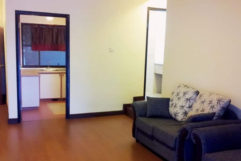 جناح إستديو (Apartment, Mountain View with Balcony) - غرفة معيشة