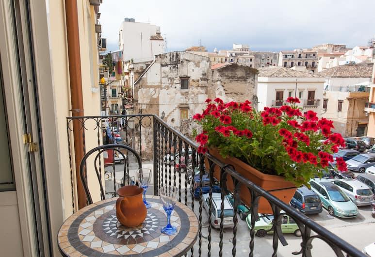 Discesa delle Capre, Palermo, Apart Daire, 2 Yatak Odası, Teras, Şehir Manzaralı (Penthouse ), Balkon