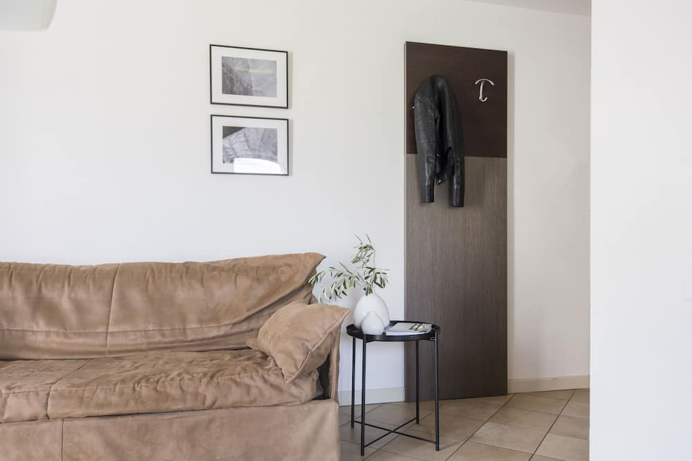 Διαμέρισμα, 1 Υπνοδωμάτιο (6 adults) - Περιοχή καθιστικού