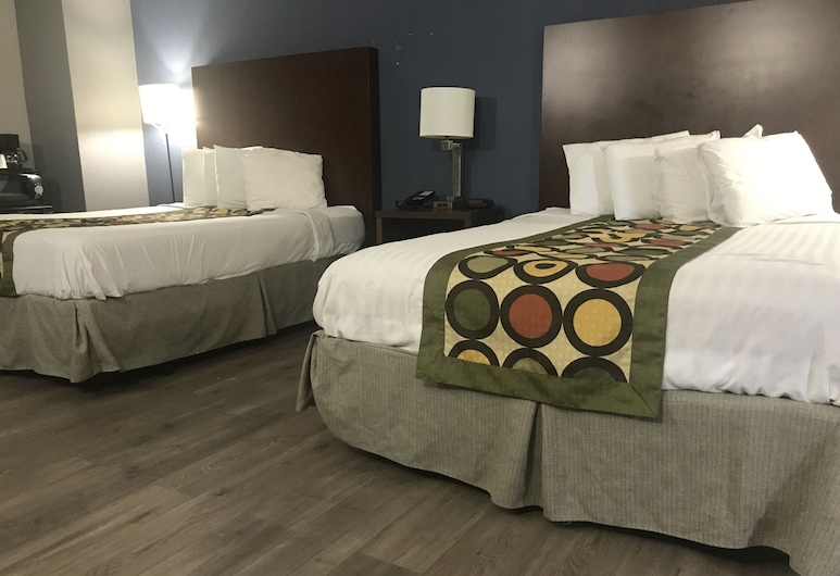 Alamar Resort Inn, Virginia Beach, Deluxe Suite, 2 Double Beds, Guest Room