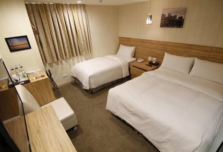 191 旅店, 台北市, 三人房, 客房