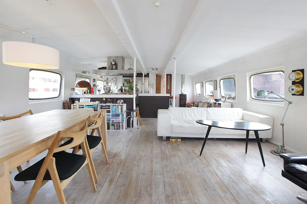 Husbåt - Vardagsrum