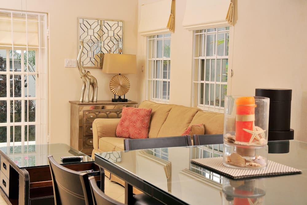 Apartment, Mehrere Betten, eingeschränkter Meerblick (ZenBreak Anidale #3) - Wohnzimmer