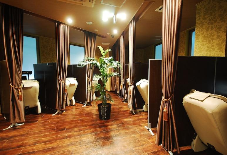 豪華膠囊飯店安心之宿新橋店, 東京, 療程室