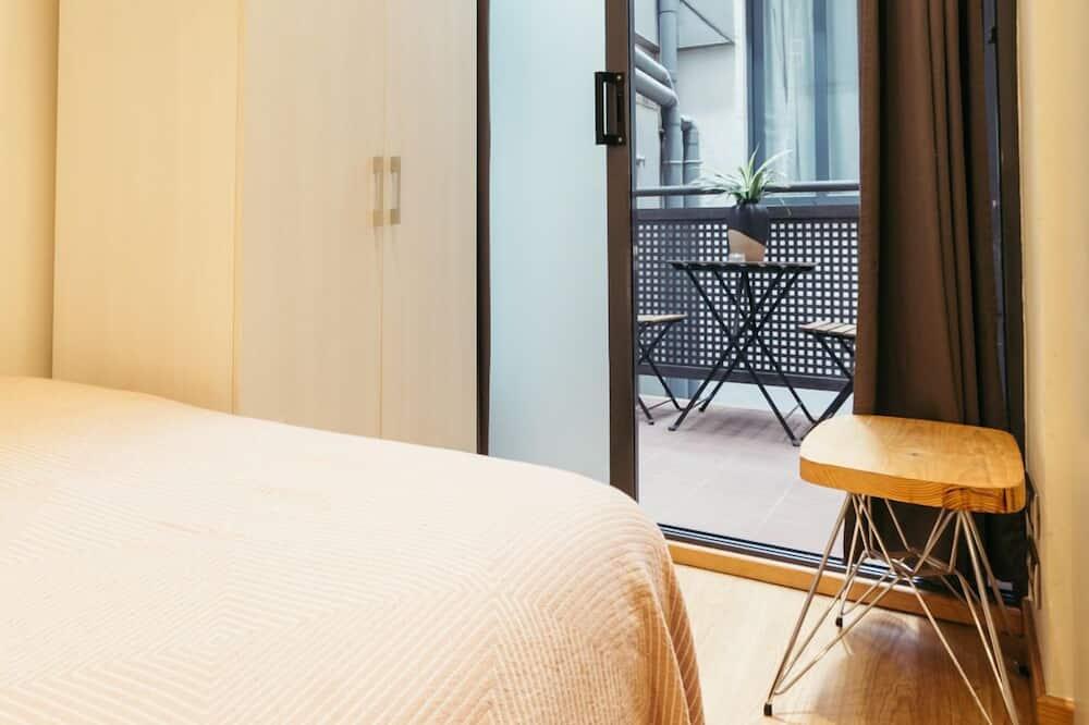 家庭公寓, 2 間臥室, 露台, 城市景 - 露台