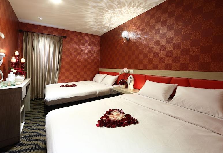 兆舍行旅, 高雄市, 經典四人房, 2 張標準雙人床, 客房