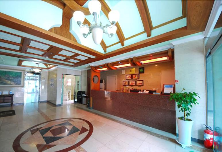 Hotel Sun House, Yeosu, Reception