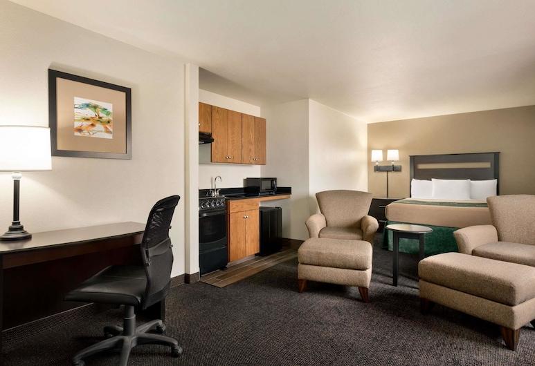 Baymont by Wyndham Glendive, Glendive, Efficiency, Zimmer, 1King-Bett, Nichtraucher, Zimmer