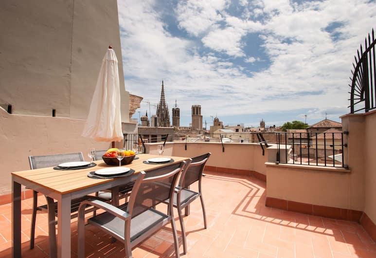 Short Stay Group Portaferrissa Serviced Apartments, Barselona, Apart Daire, 1 Yatak Odası, Teras, Teras/Veranda