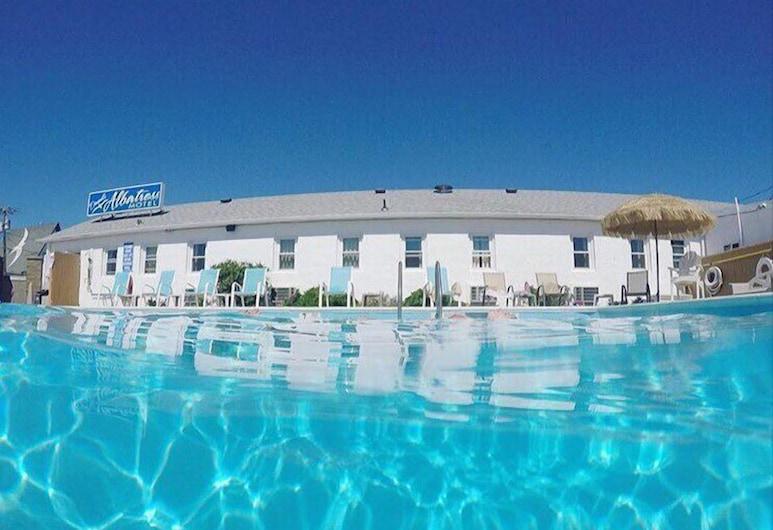 Daunt's Albatross Motel, Montauk, Outdoor Pool
