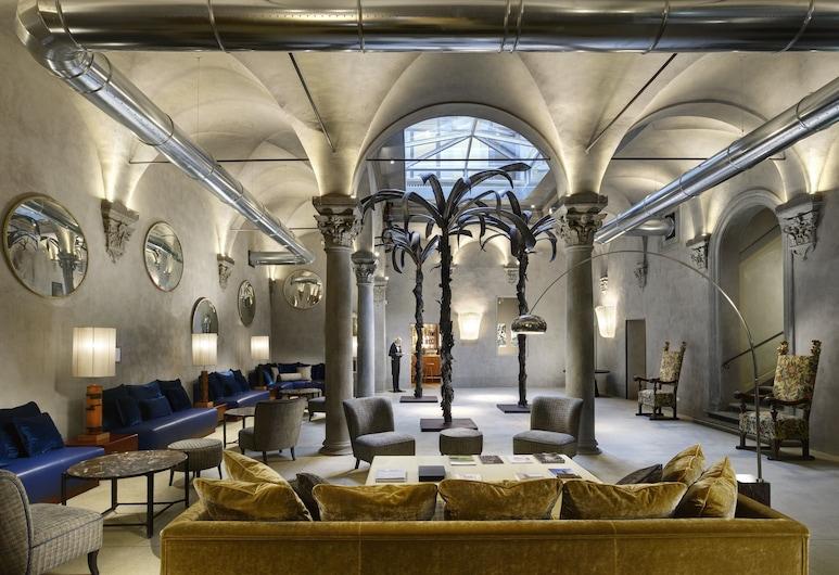 Hotel Garibaldi Blu, Florenz, Lobby
