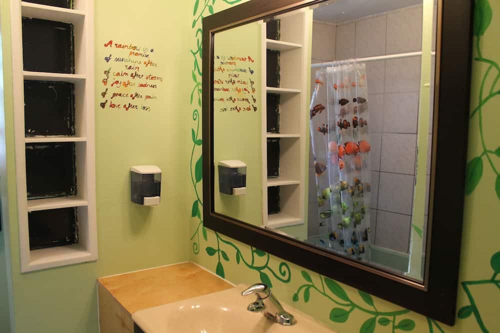 共用宿舍, 1 張單人床 (4-Bed Mixed Dorm) - 浴室