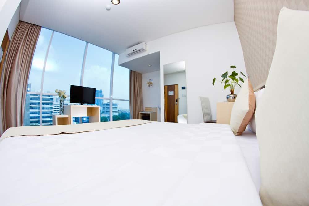 חדר דה-לוקס, מיטת קווין - חדר אורחים