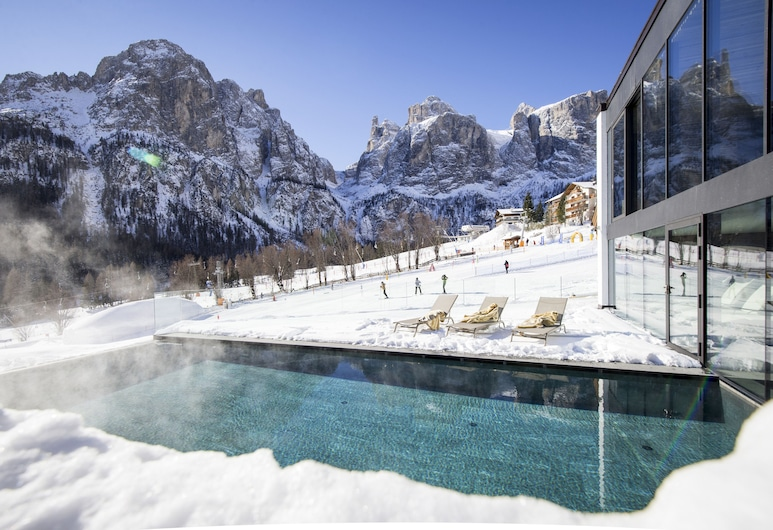 Romantik Hotel Cappella, Corvara in Badia, Outdoor Pool