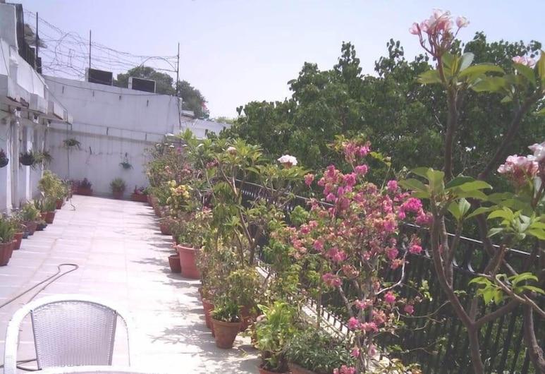 Jukaso Inn Down Town, New Delhi, Deluxe Double Room , Terrace/Patio