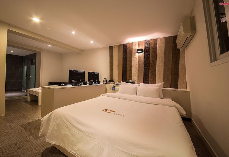 EZ hotel, סיאול, סוויטת דה-לוקס, חדר אורחים