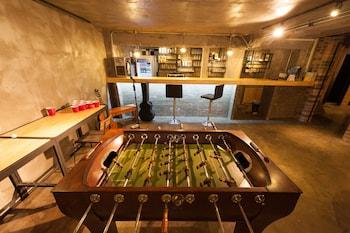 首爾儀諾旅舍暨弘大酒吧酒廊的圖片