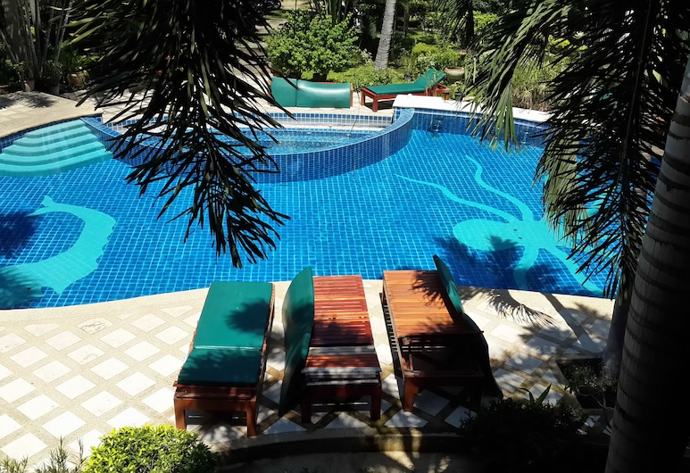Rattana Guesthouse & Bungalow, Ko Samui, Piscine en plein air