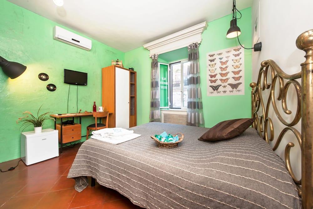 City Double Room, 1 Bedroom, City View - Living Room